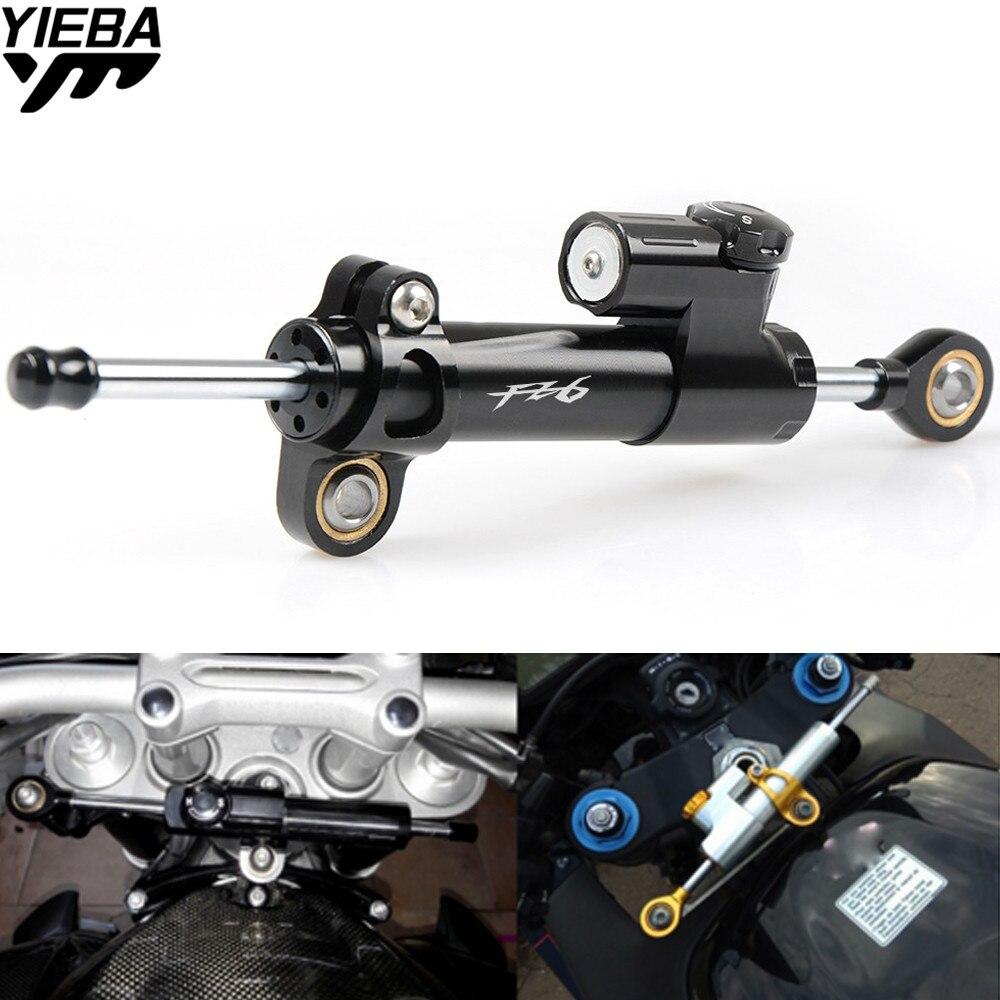 Universal Motorcycle Steering Dampers Stabilizer Safety Control  For YAMAHA FZ1 FZ6 FZ8 FZ6R YZF R1 R6 YZF-R6 XJ6 FZ6 FAZER