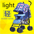 Ultraportability umbrella stroller car can sit or lie shock four folding stroller baby child bb