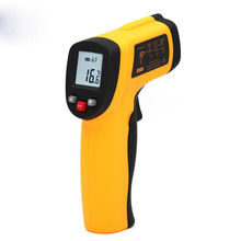 GM300 thermometer, infrared thermometer, industrial high temperature infrared electronic thermometer compact size thermocouple thermometer low cost thermometer dual inputs thermometer center 308