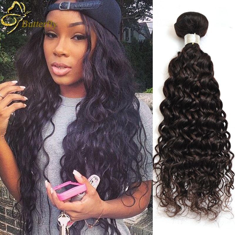 7A Brazillian Water Wave Virgin Hair Cheap Brazilian Ocean
