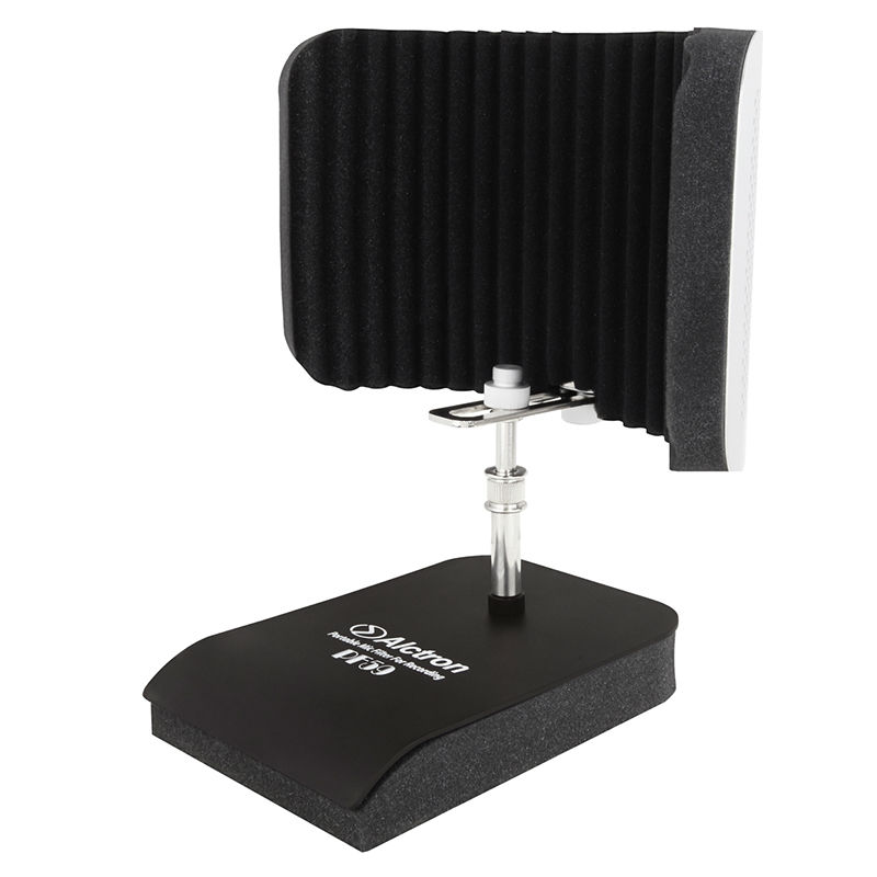 цена на Alctron PF59 Professional Desktop Mic Screen Studio Mic Screen, Mic isolation Shield, Acoustic Diffuser Screen