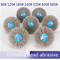 Grinding Head Abrasive DuPont Nylon Material Wood Thuja Redwood Root Relief Polishing Wheel Grinding Head Wear
