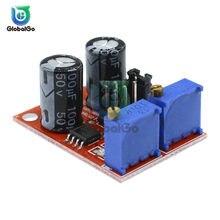 NE555 fréquence d'impulsion cycle d'utilisation module réglable vague carrée rectangulaire générateur de signal d'onde rouge
