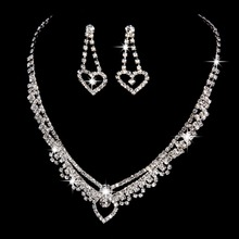 Free shipping New design high quality austrian crystal bridal jewelry sets noble jewelry wedding bijoux mariage accessory 2016