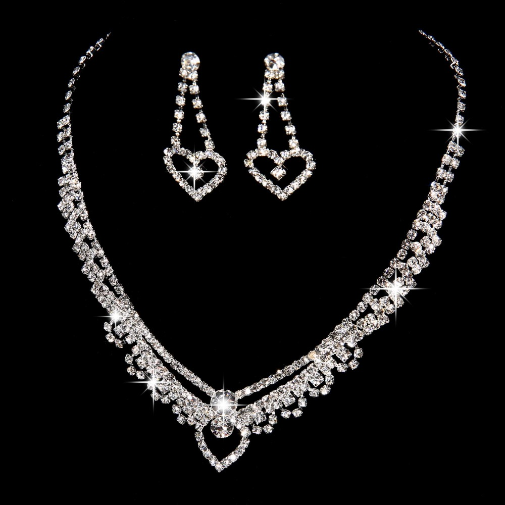 Free shipping New design high quality austrian crystal bridal jewelry sets noble jewelry wedding bijoux mariage accessory