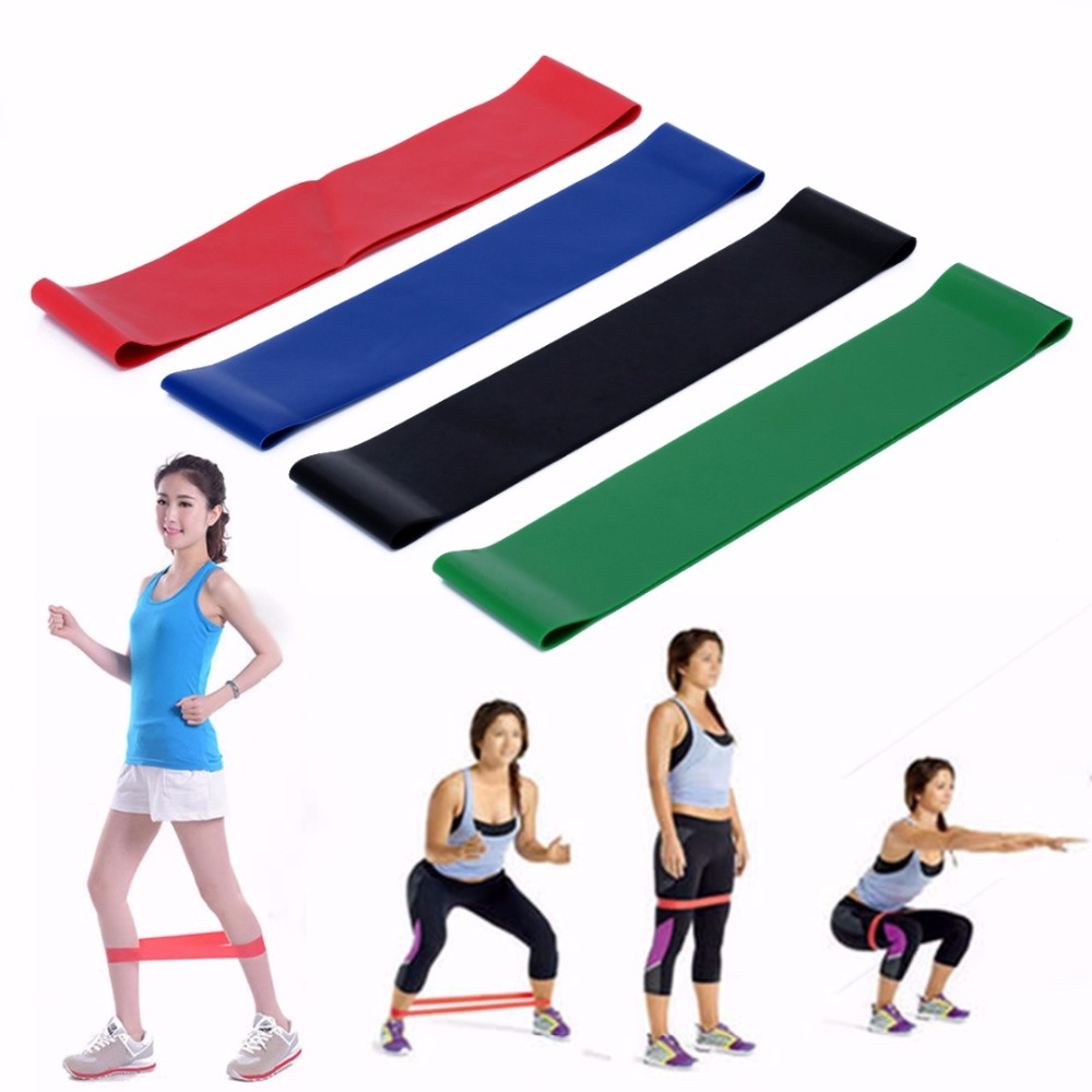 4 Levels Crossfit Elastic Exercise Loop Resistance Band Belt Gym Fitness Training Yoga Equipment Body Ankle Pull Up Rope track field exercise gymnastic rings gym exercise crossfit pull ups muscle ups fitness tendon crossfit resistance band