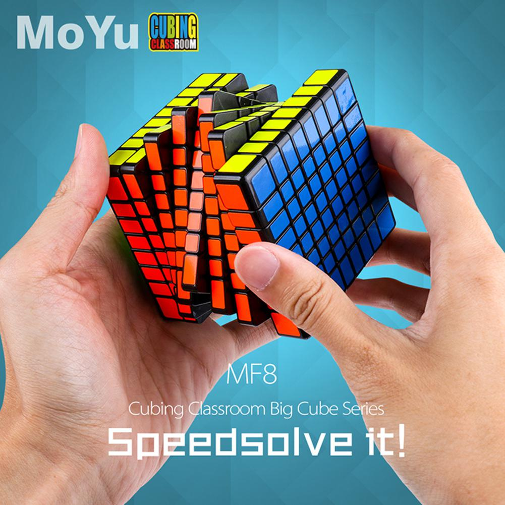 LeadingStar 8x8 Magic Puzzle Cube Twist Puzzle Speed Cube Adult Kids Educational Toy Gift Competition Game yj guanlong speed third order magic cube toy