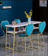 Стол для маникюра простой золотистый комбинированный косметический