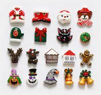 Vendita calda 18 Pz/lotto Halloween 3D Magneti Frigo Regalo Creativo Cartone Animato Di Natale Decor Frigorifero Adesivi Magnetici