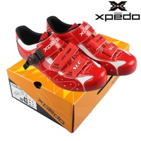 Wellgo Xpedo Original SLC F Road Bike Cycling Shoes Ultralight Carbonfibre Self locking Lite Carbon Riding Shoes EUR Size 42 45