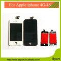 Испытано Замена полный жк-дисплей с сенсорным дигитайзер для iPhone 4 ассамблеи 1 шт. бесплатная доставка + бесплатные инструменты