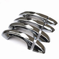 Auto Styling Chrome Car Side Door Handle Cover Trim For Volkswagen VW GOLF 7 MK7 2013