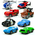 8piece/lot Scale models plastic cars pixar and planes pixar model toys for children, baby's classic model car/model plane toy
