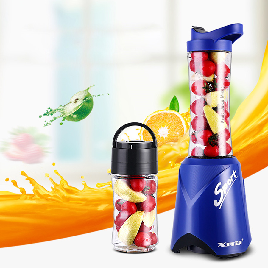 Mini Juicer Portable Multifunction Extractor Blender Bottle Cup Smoothie Maker Travel Cup Shake Take Fruit Mini Mixer Household 2l wholesale fruit mixer manual smoothie blender juicer meat grinder with digital temperature control