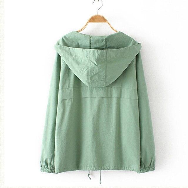 2018 Oversize Women Windbreaker Jacket 1