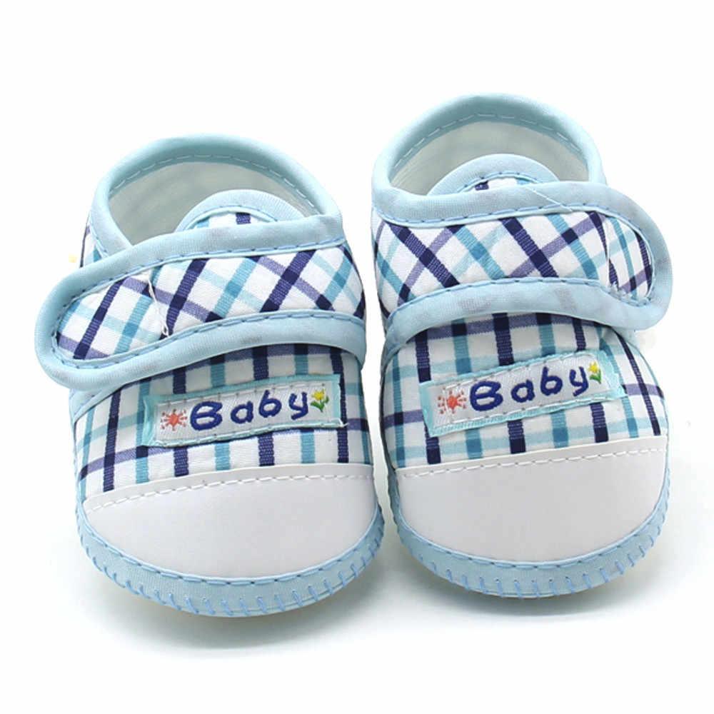 ทารกแรกเกิดทารกเด็กชายหญิง Soft Sole Prewalker สบายๆรองเท้า Scarpe da bambino Zapatos de bebe * 40