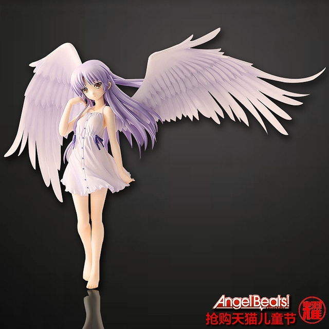 Hot Japanese Anime Angel Beats Tachibana Kanade Large Armor Detachable Dolls The Most Popular Gifts