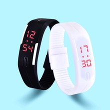 HEOCY New Fashion LED Bracelet Digital Watches For Men&Ladies&Child Clock Womens Rubber  Sports Wristwatch Saat