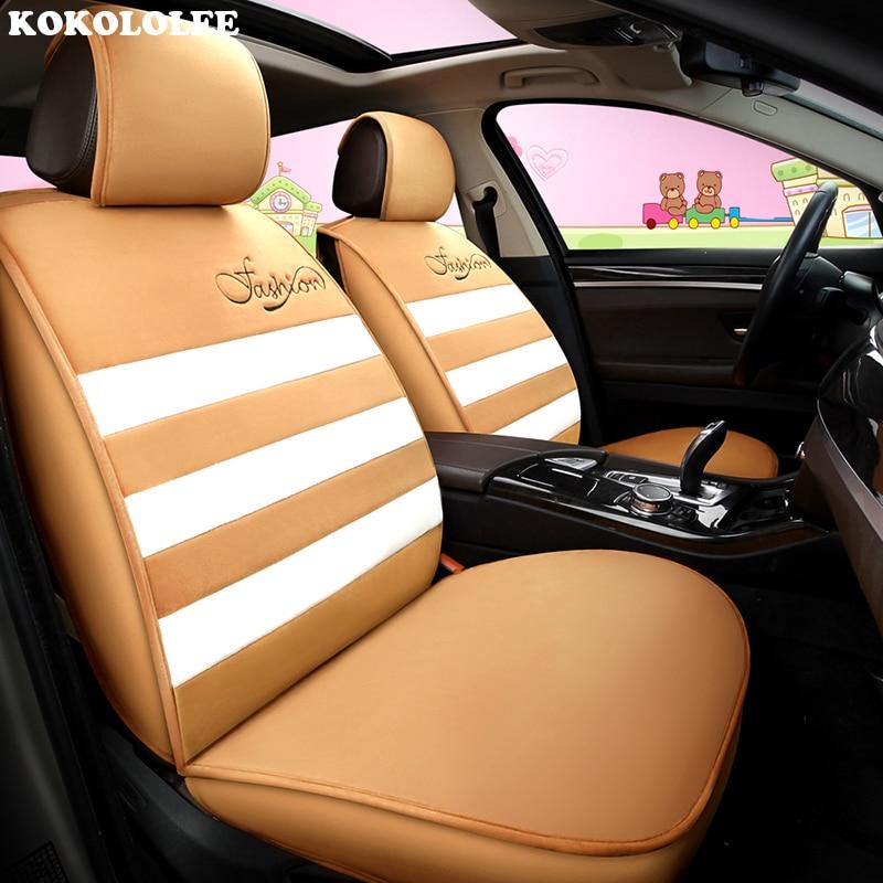 KOKOLOLEE housses de siège de voiture pour hyundai solaris tucson 2017 getz accent accessoires i20 creta ix 35 i10 i40 Automobiles Siège couverture