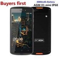 Original AGM X1 Mini IP68 Waterproof Mobile Phone 5 0 HD 2GB RAM 16GB ROM Qualcomm