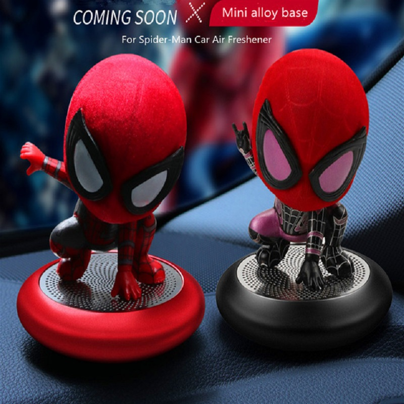 New Spider-Man Air Freshener Car Perfume Car Decoration Auto Far From Home Fragrance Scent Parfum Voiture Car Diffuser car smell