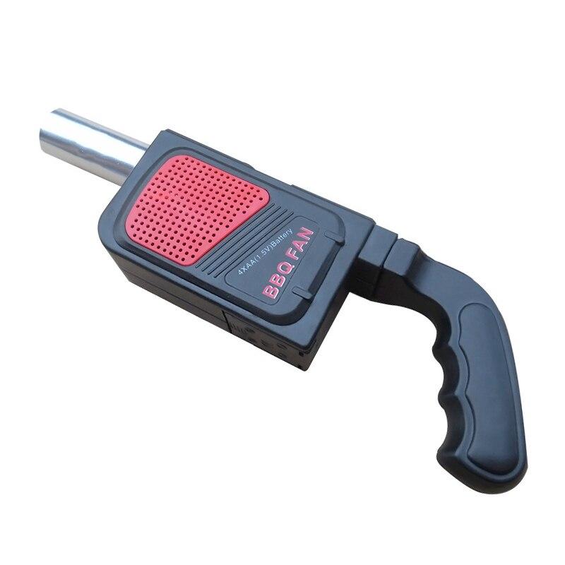 Neue Camping BBQ Werkzeuge Strom BBQ Fan Gebläse Ventilator Faltenbalg für Grill LBShipping