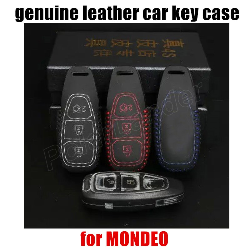 Free Shipping Car Key Case Sewing Hand Car Key Cover Case Genuine