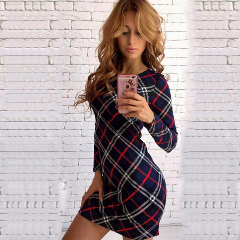 2017 dress kobiety nieregularne plaid shirt sukienki sexy długim rękawem turn down collar urząd casual dress lj5932c 15