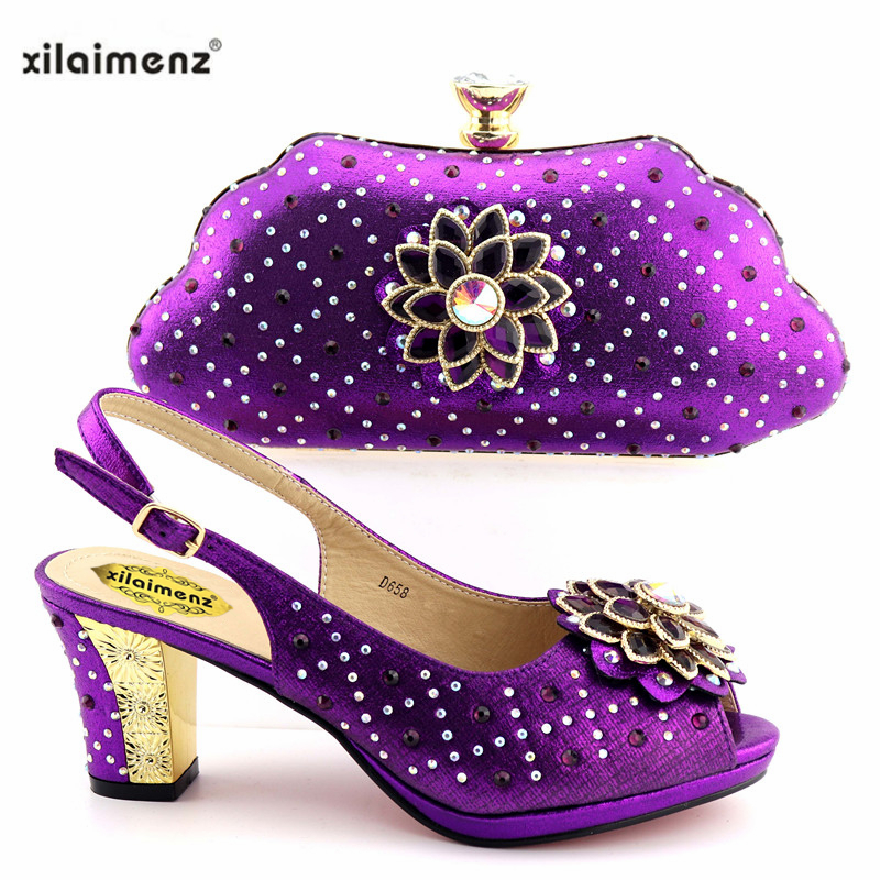 Partie gold Italien Assortis purple Ensemble Blue Pour Les pink Et Chaussures Femmes De Avec Sacs Africain Dans Dernières red Ventes pYa66