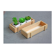 Cute Multifunction Wooden Storage Boxes Bins Creative Wood Box Pencil Vase Desktop Storage Case