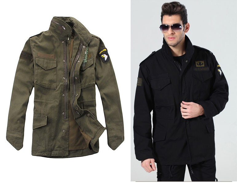 Military Jacket For Men - Coat Nj