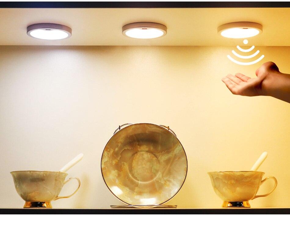 SMD2835 LED Chips PIR Sensor Lamp Kitchen Wardrobe Closet Motion Sensor 12V DC Under Cabinet Lights 3W Cabinet Night Lighting (8)
