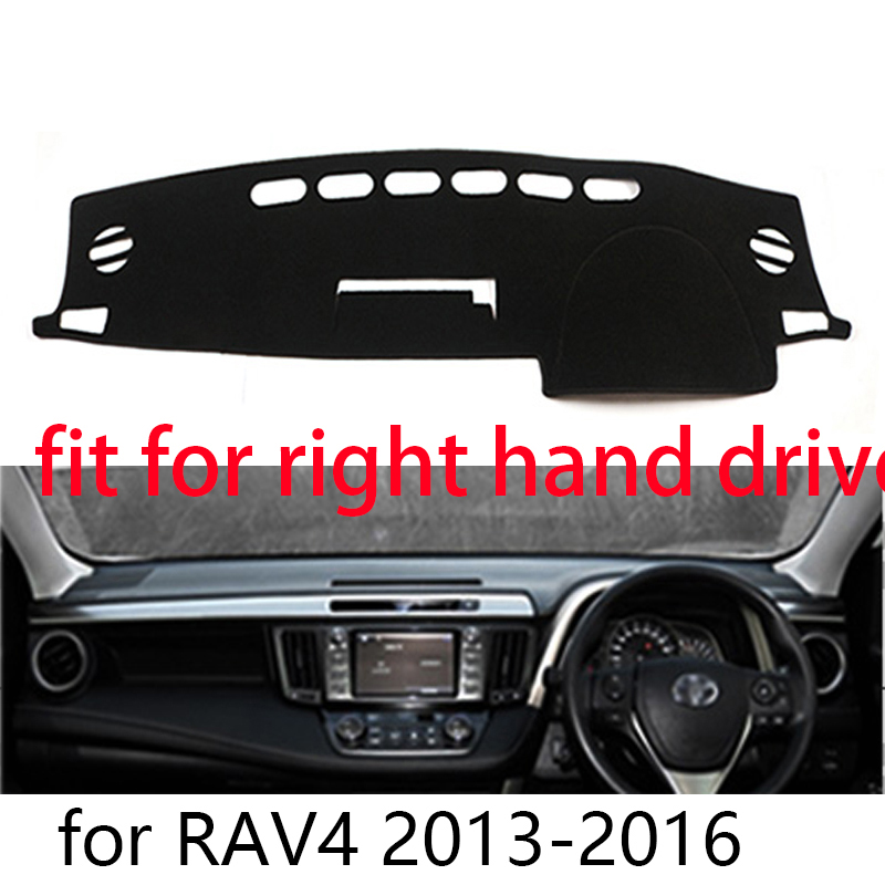 Fly5D Dashboard DashMat Cover Mat For Toyota RAV4 2013 2014 2015 2016 Dash Parts