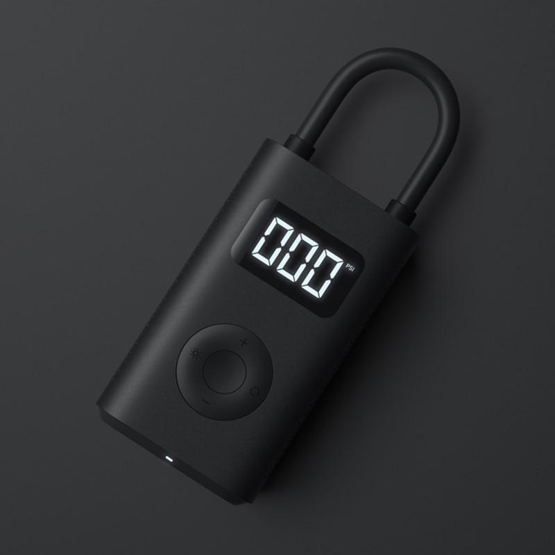 Xiaomi Mijia Portable Smart Digital Tire Pressure Detection Electric Inflator Pump for Bike Motorcycle Car Football , In stock 3