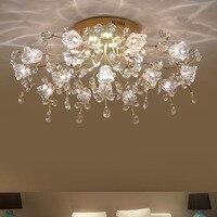 New Design Modern LED Chandelier Ceiling Crystal Lamp 7 13 16 Lights Lustre Cristal Living Room