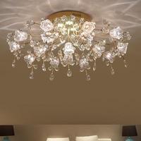 new design modern LED chandelier ceiling crystal lamp 7/13/16 lights lustre cristal living room lighting free shipping