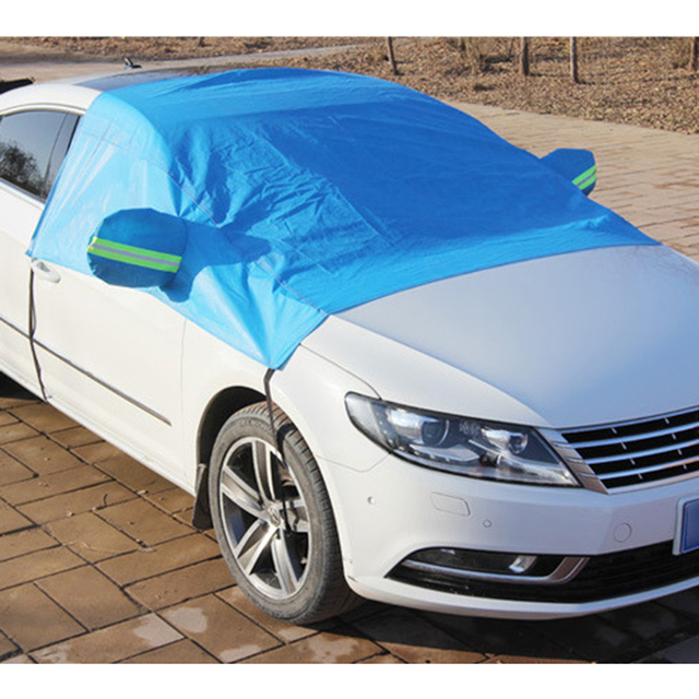 Car Front Wndow Cover/Full Cover Sun Shade Protector Outdoor Wind Dust Snow Rain Protective Cover Auto Accessories Styling 5