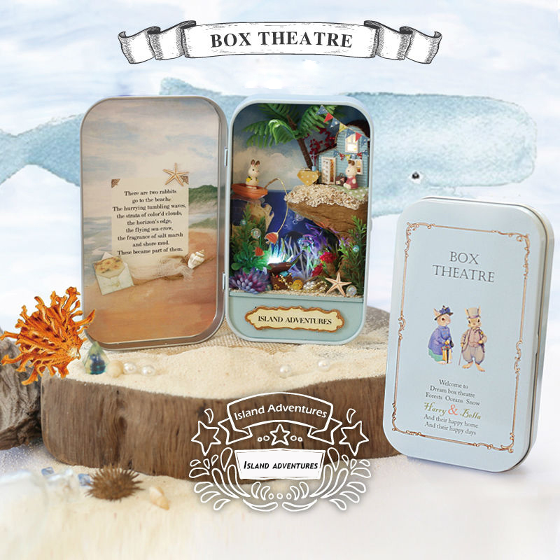 Island Adventures Box Theatre 3D DollHouse