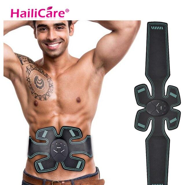 EMS Abdominal Muscle Trainer Sports Press Stimulator Gym Equipment Body Massager Loss Arm Leg Muscle Stimulator Toning Gear