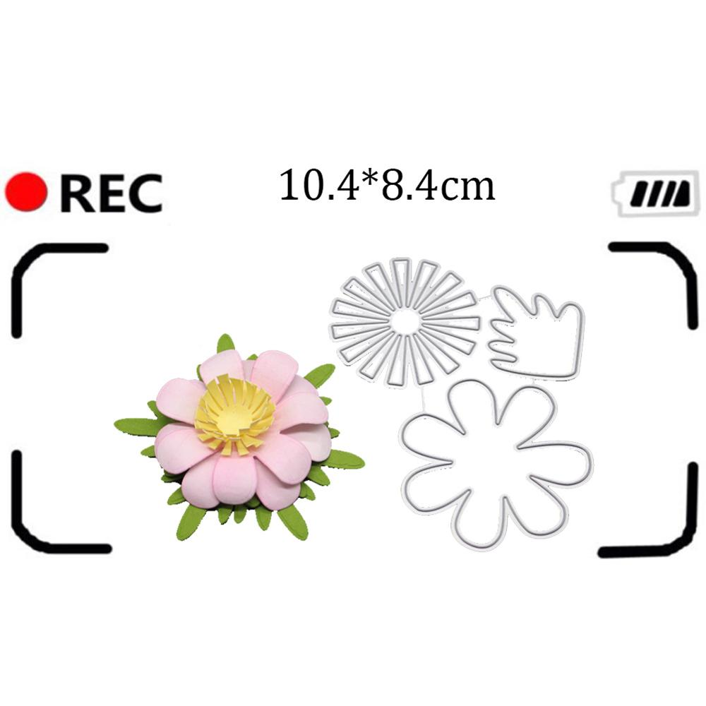 2019 Christmas Stamps.Us 2 33 47 Off Beautiful Flower Metal Cutting Dies Background New 2019 Christmas Stamps And Dies For Card Craft Scrapbooking Arrivage In Cutting