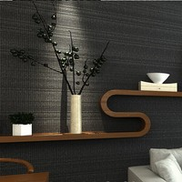 Silver Grey Texture Wallpaper Roll Modern Simple Plain Vinyl Wall Paper Papel De Parede Papel De