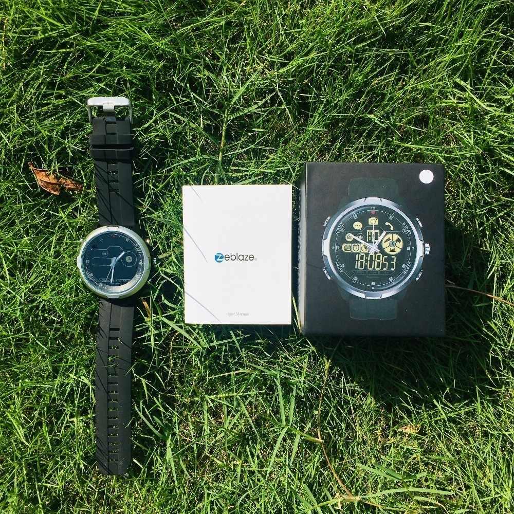 Zeblaze vibe 4 HYBRID Smart Watch mężczyźni kobiety Smartwatch wodoodporny 24-miesięczny czas czuwania 24h monitorowanie pogody