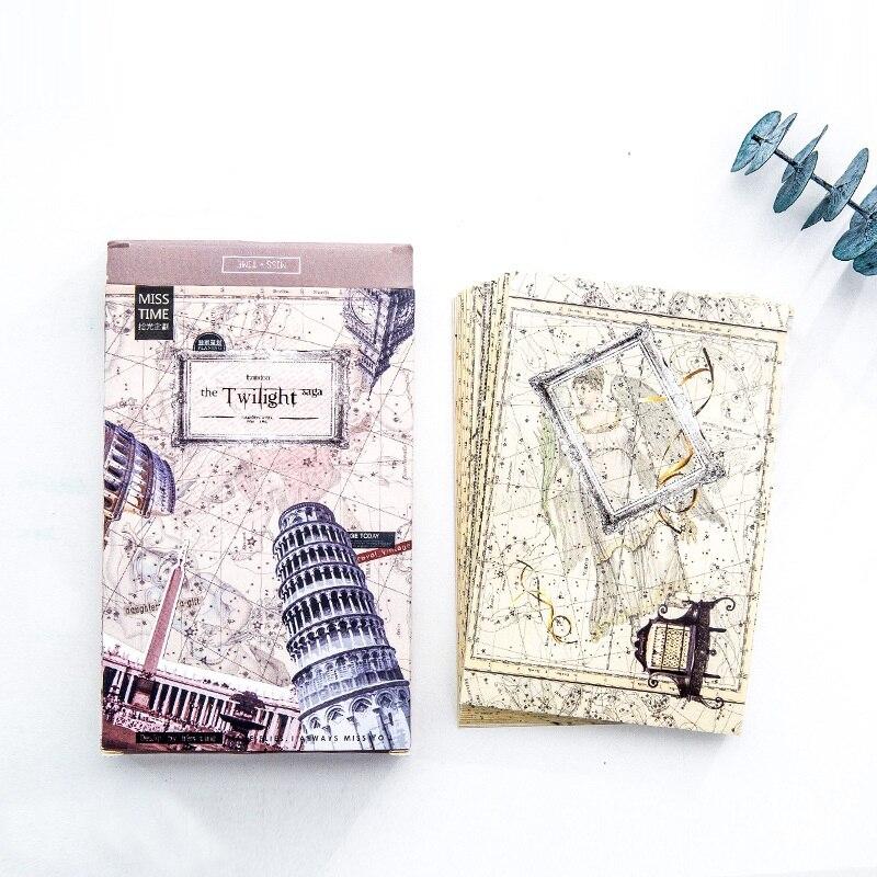 30 листов/набор Twilight Saga открытка/поздравительная открытка/Подарочная открытка на день рождения