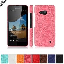 Crocodile Case For Microsoft Lumia 550 LTE Hard PC Protective mobile