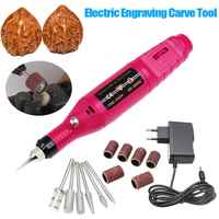 15 Pcs/set DIY Electric Engraving Engraver Pen Carve Tool for Jewelry Metal Glass EU Plug BDF99