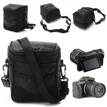 1PC Waterproof Digital Camera Case Shoulder Black Bag For Nikon SLR DSLR Camera Dropshipping стоимость