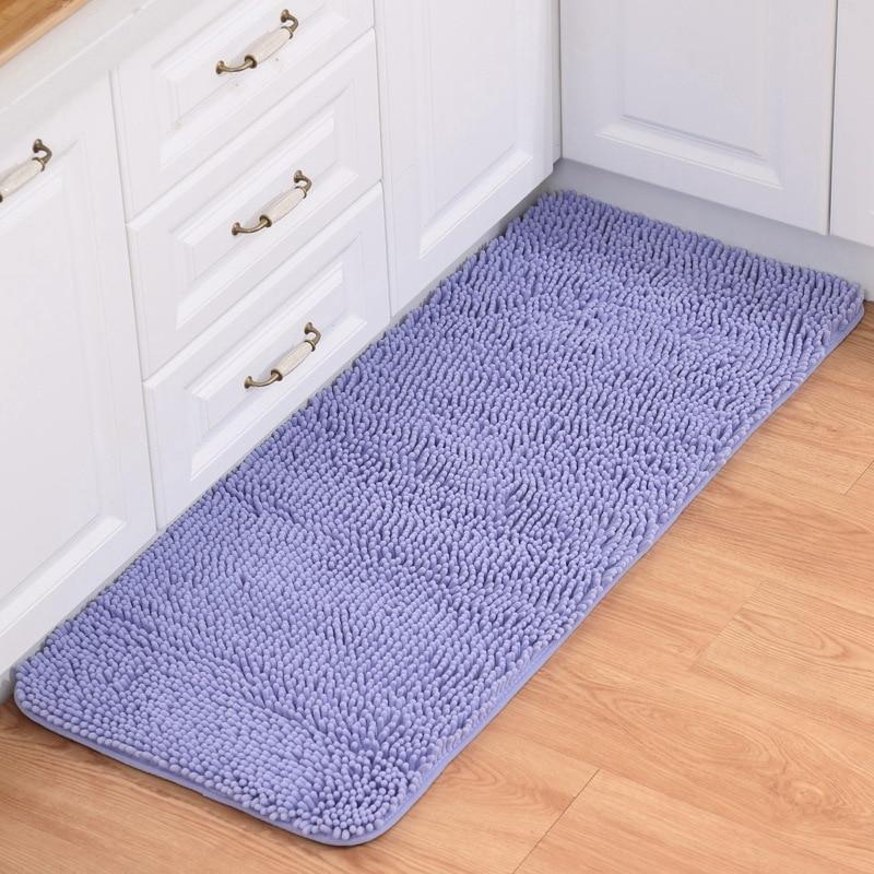 Polyamide Hotel Mama Coconut Rubber Backing Washable Mat Rug Carpet