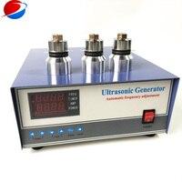 Alimentação do Circuito de Alta Freqüência ultra-sônica 135 K 600 W Gerador de Condução Transdutores Ultra-sônicos Limpeza