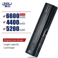 JIGU New 6 Cells Laptop Battery For HP Pavilion DV4 DV5 dv6-1100 Series Battery HSTNN-IB72 HSTNN-LB72 HSTNN-LB73 HSTNN