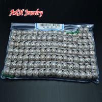 A+ Quantity 8x10mm Bodhi Beads For Tibetan Buddhism Jewelry Making Materials 2 Bags/lot